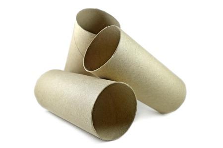 nucleo: n�cleo de papel de seda sobre fondo blanco Foto de archivo
