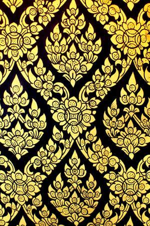 ism: Thai pattern background    Editorial