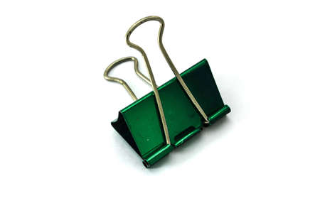 paper clip on white background