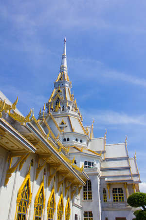 The Sothon temple is the Buddhist faith in Thailand
