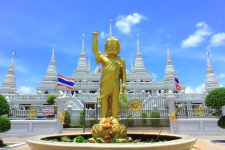 Baby Buddha in Thai temple  Stock Photo - 17533532