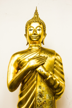 Statue of Buddha at peace Stock Photo - 17903146