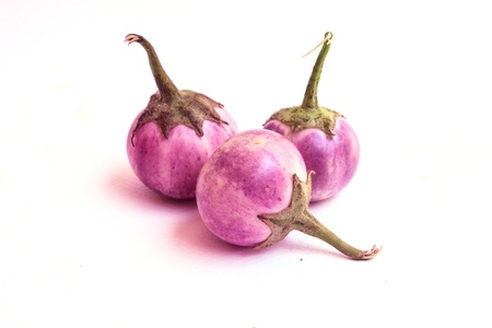 eggplant on white background  Stock Photo