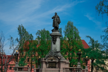 mickiewicz: Adam Mickiewicz Monument