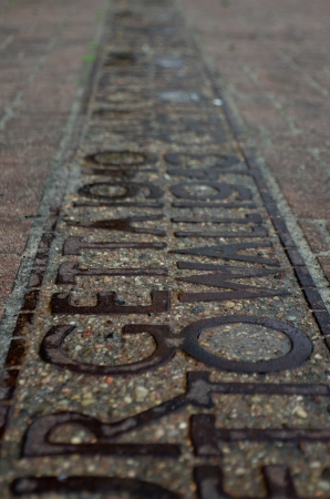 treblinka: Traces of the Jewish Ghetto - Commemorative pavement plaque