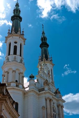 holiest: Church of the Holiest Saviour, Warsaw, Poland Stock Photo