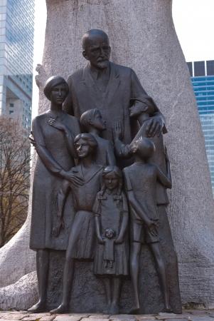 genocide: Traces of the Jewish Ghetto - Janusz Korczak Monument