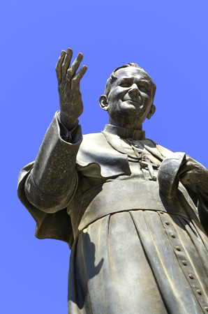 paulus: Monument of Pope John Paul II