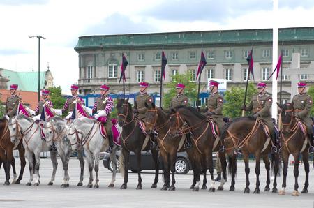 cavalryman: Horse cavalry detachment