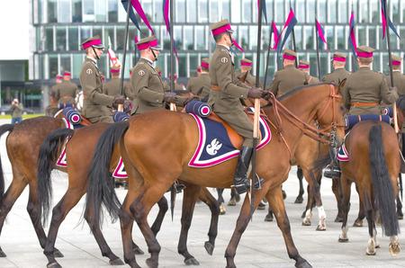 cavalry: Horse cavalry detachment