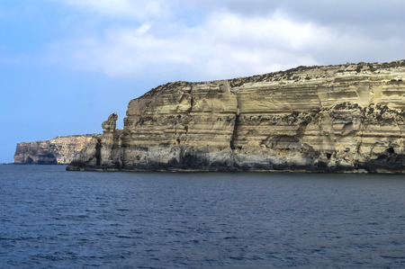 the mainland: Malta, Dingli Cliffs - breathtaking 250m-high cliffs on the south coast of the mainland island.