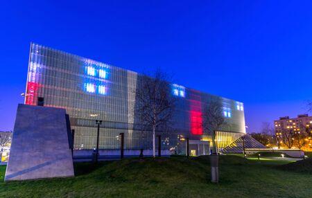 POLIN Museum der Geschichte der polnischen Juden, Warschau, Polen.