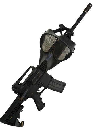 M4A1 mask photo