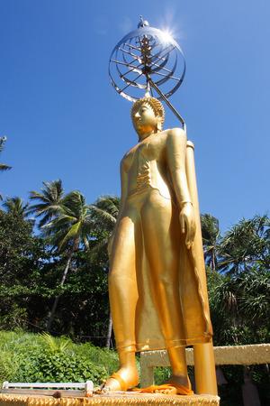 buddha image: Big standing buddha image