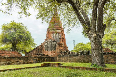 Old temples of Ayutthaya, Thailand