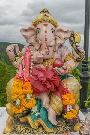 Hindu God Ganesha. Ganesha Idol