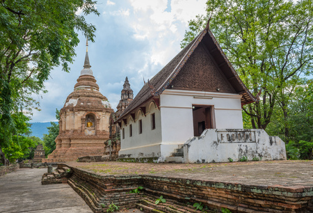 Old temple in Chiang Mai, Thailand