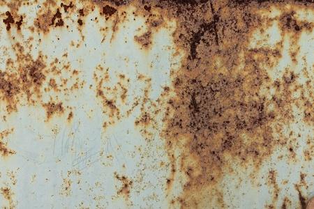galvanize: rusty metal wall