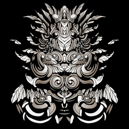 sharpness: dark patterns in the style of the shamans
