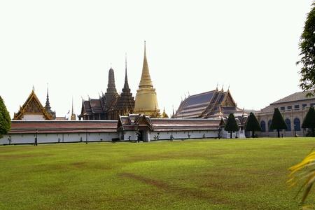 predicador: Templo del Buda de Esmeralda El Tailandia