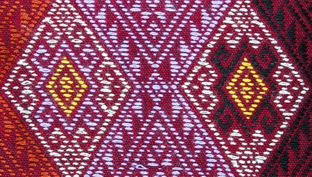 sarong: Traditional thai sarong pattern for a background.