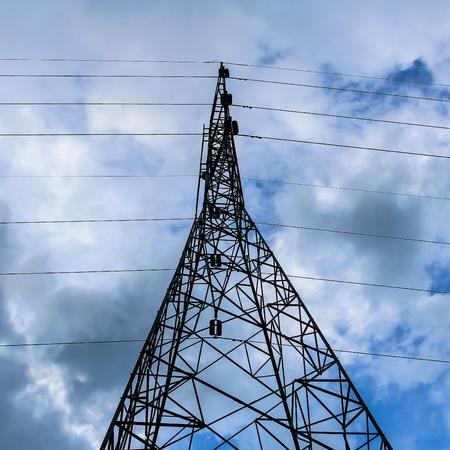 electricity pylon: Electricity pylon