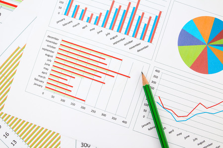 Business chart Banco de Imagens