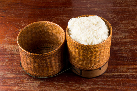 Sticky Rice In The Bamboo Package