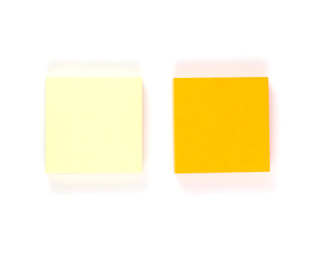 single color image: Blank of note.
