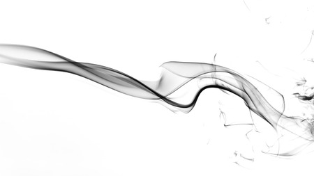cigar shape: Abstract smoke Stock Photo