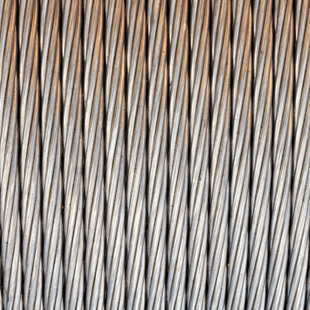 Steel Wire Rope Cable Background. Stock Photo, Picture And Royalty ...