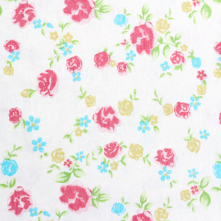 sateen: bouquet design Seamless pattern on fabric as background