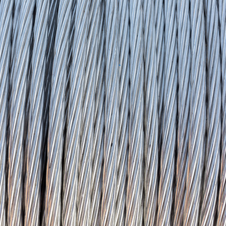 steel wire: Steel wire rope cable background.