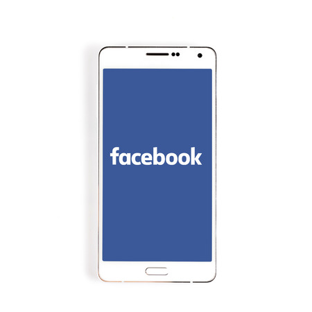 mark zuckerberg: KIEV, UKRAINE - APRIL 02, 2015: Facebook - one of the largest social networks in the world. Was founded in 2004 by Mark Zuckerberg and his roommates during training.