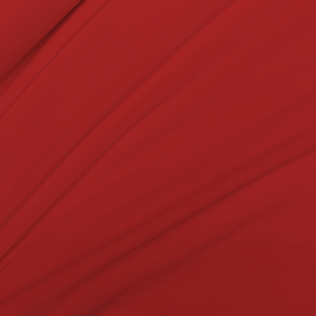 cloth manufacturing: Creased red cloth material fragment as a background.