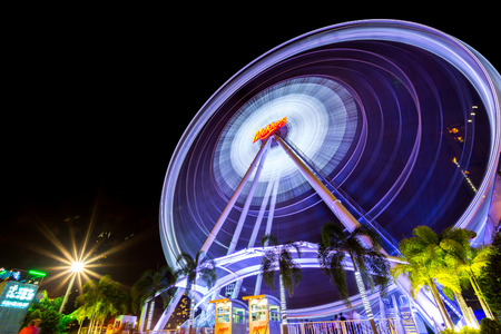 BANGKOK - March 3 : ASIATIQUE The Riverfront Factory District on March 3, 2016 in Bangkok, Thailand. Over 500 fashion boutiques housed in Factory District of Asiatique The Riverfront