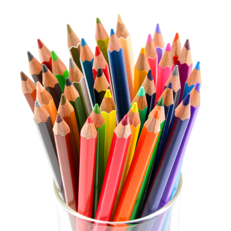 color pencils: Color wooden pencils.