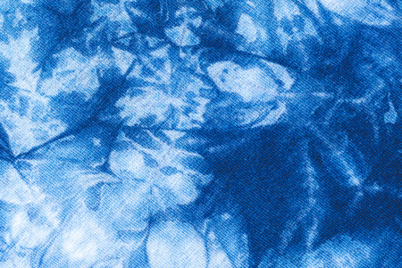 colourful tie: The fabric is indigo dye use as background,Local fabric