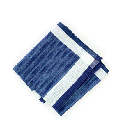 handkerchief: close up of handkerchief on white background