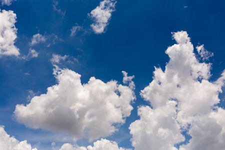 Abstract clouds in blue sky for blackground. Stock Photo