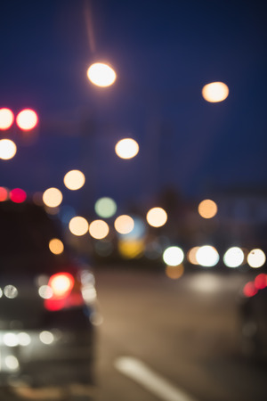 Abstract bokeh traffic light background