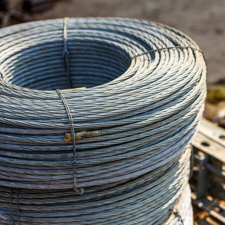 steel cable steel wire or steel rope, rope sling drum