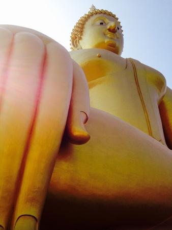 thai believe: Pha Yai Stock Photo