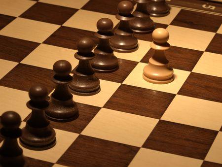 Chess - Black wall defense