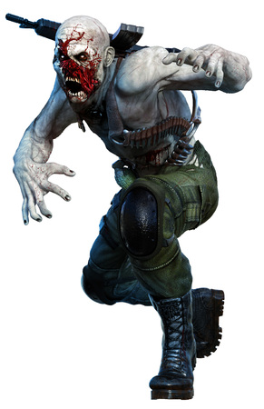 rot: Zombie soldier