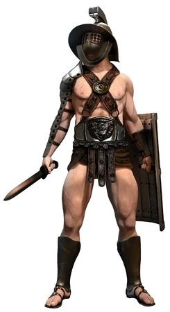 roman soldier: Gladiator Stock Photo