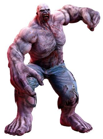 Huge zombie Фото со стока - 70431051