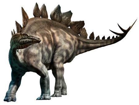 ステゴサウルス 写真素材
