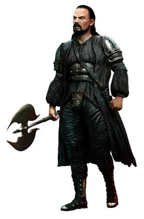 brigand: Fantasy warrior Stock Photo