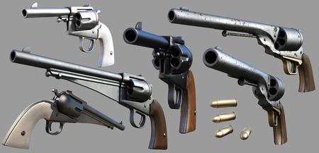 카우보이 총